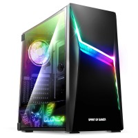 CHOIX MULTIPLES Pc Bureau Gamer AMD Ryzen 5 3400G Windows 10 Clone 4